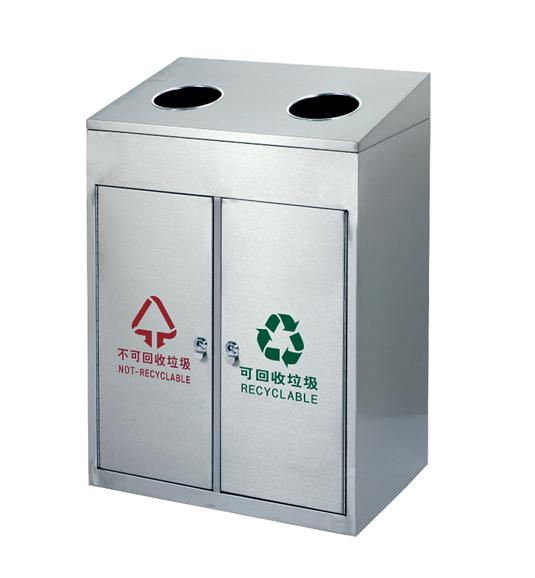 不锈钢垃圾桶jd-4504